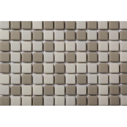 Mosaico Cuadrado Esmaltado Blend 66 - MALLA