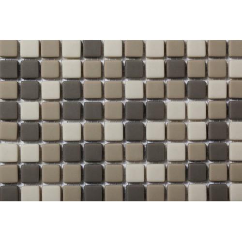Mosaico Cuadrado Esmaltado Blend 76 - MALLA