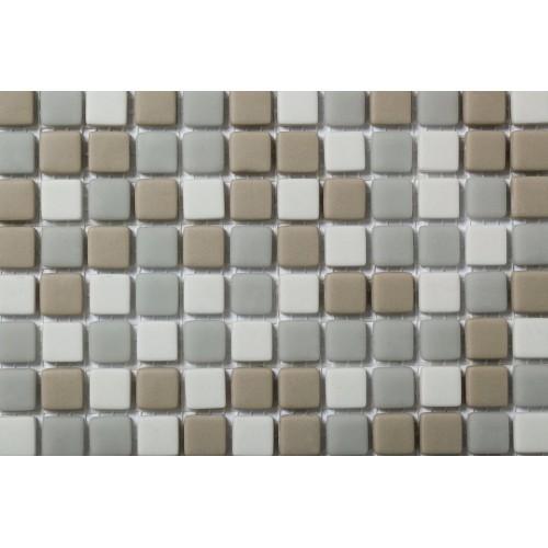Mosaico Cuadrado Esmaltado Blend 97 - MALLA
