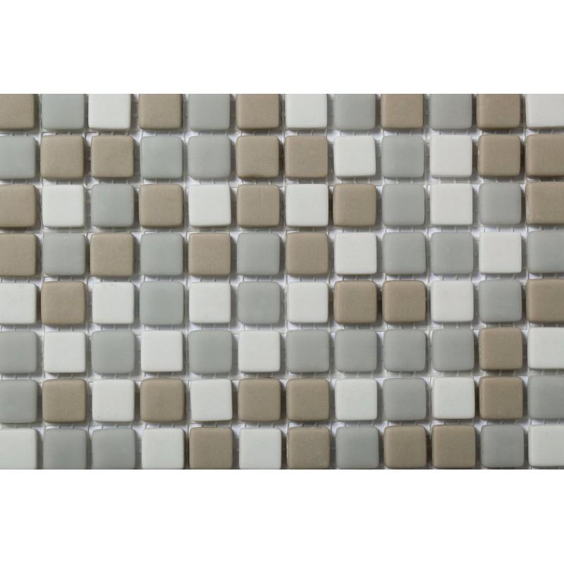 Mosaico Cuadrado Esmaltado Blend 97