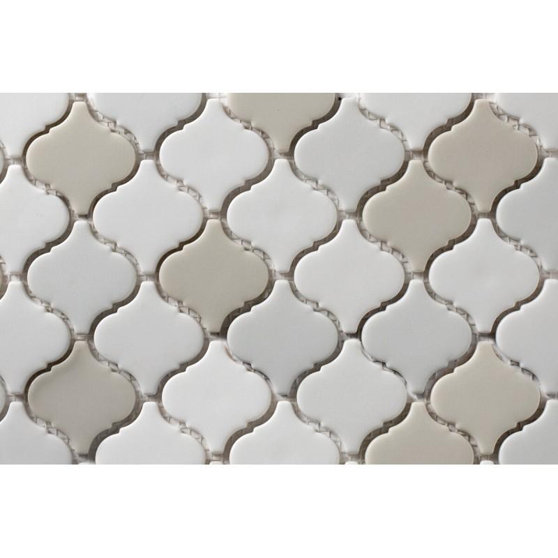 Mosaico Esmaltado Mezcla Hielo Brillante