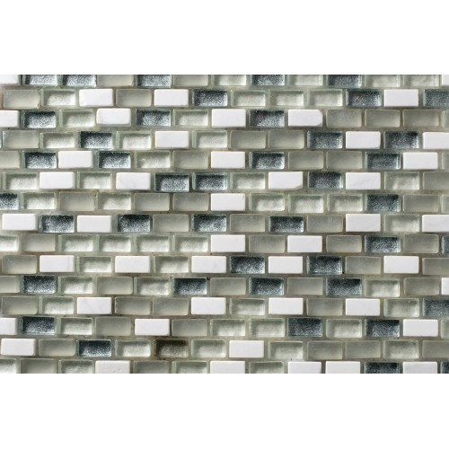 Mosaico Rectangular Mini Metalic Blend 2 - MALLA