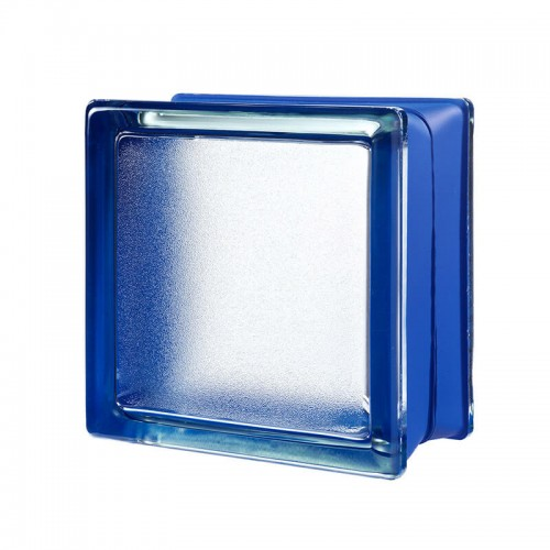 Bloque de vidrio Artic Blueberry 14,6x14,6x8cm