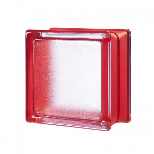 Bloque de vidrio Artic Cherry 14,6x14,6x8cm