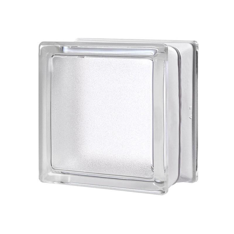 Bloque de vidrio Artic Neutro 14,6x14,6x8cm
