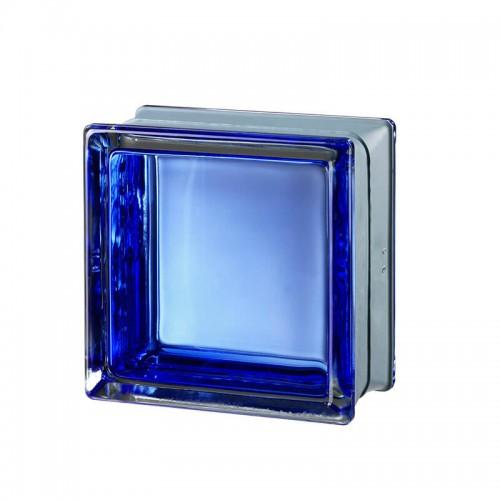 Bloque de vidrio Futuristic Blue  14,6x14,6x8cm