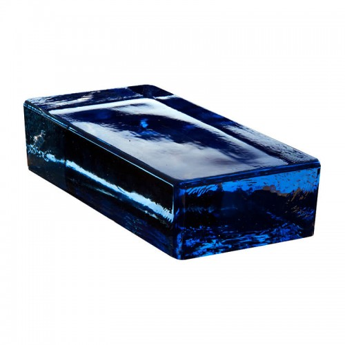 Vetropieno Rectangular Azul 24x11.7x5.3cm