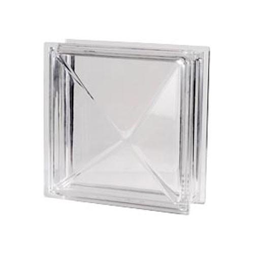 Bloque de vidrio Diamante Neutro 30x30x10cm
