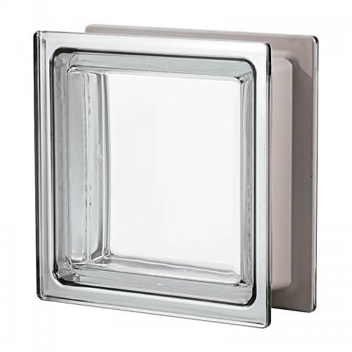 Bloque de vidrio Seves Metalizado 33x33x12cm