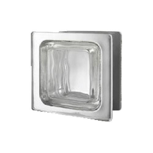 Bloque de vidrio Renzo Piano Metalizado 24x21x12cm
