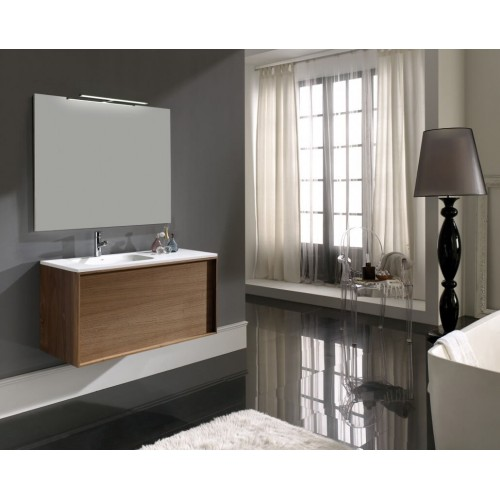 Mueble de baño Naxani de 130 cm serie Aalto