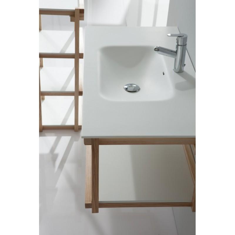 Mueble de baño Naxani serie Blev detalle lavabo