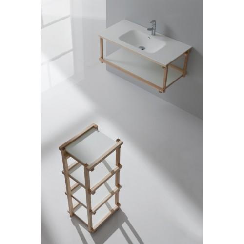 Mueble de baño Naxani de 140 cm serie Blev