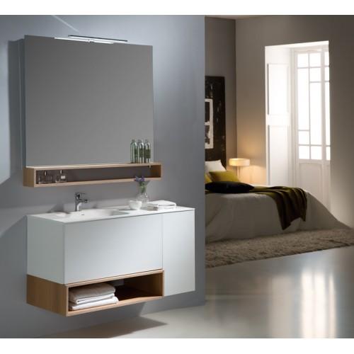 Mueble de baño Naxani de 110 cm serie Boxy