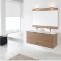 Mueble de baño Naxani de 120 cm serie Colton