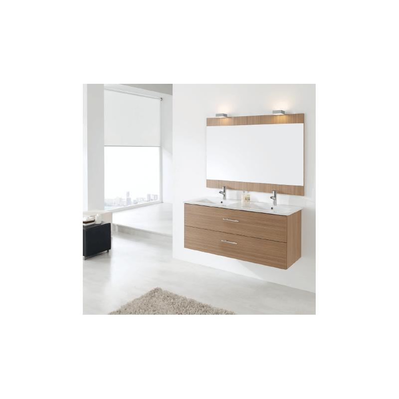 Mueble de baño Naxani serie Colton Nogal melaminado