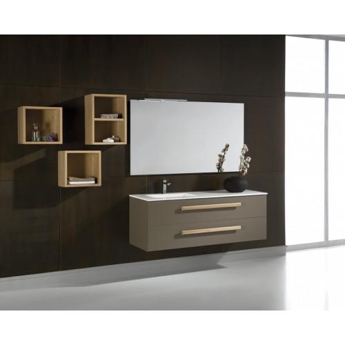 Mueble de baño Naxani de 130 cm serie Elem