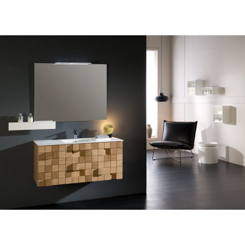 Mueble de baño Naxani de 124 cm serie Grid
