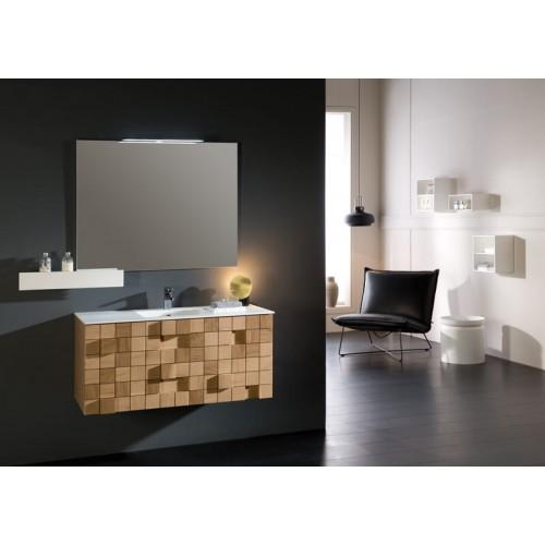 Mueble de baño Naxani de 133 cm serie Grid