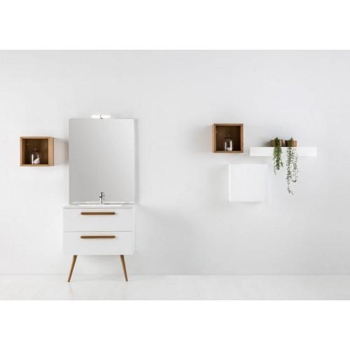 Mueble de baño Naxani de 80 cm serie Hobro