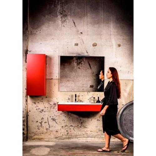 Mueble de baño 100 cm serie Hende Fire Mondial Bathroom