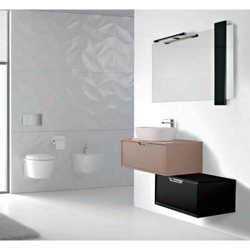Mueble de baño Socimobel de 60cm serie Miami Negro