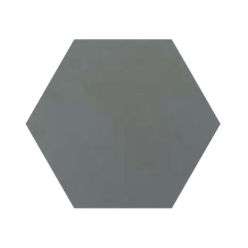 Baldosa Hidráulica 20x11,5cm Hexagonal antracita