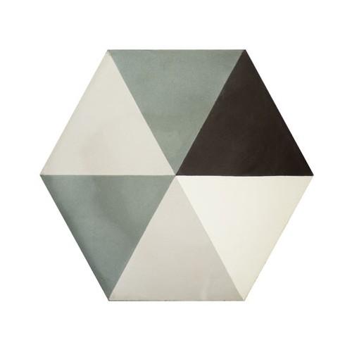 Baldosa Hidráulica 20x11,5cm Hexagonal Nº 2014