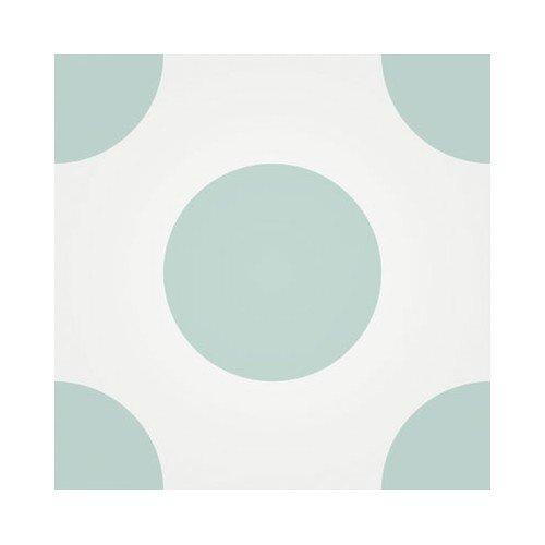 Baldosa Hidráulica 20x20x1,8cm Geométrica Nº 1