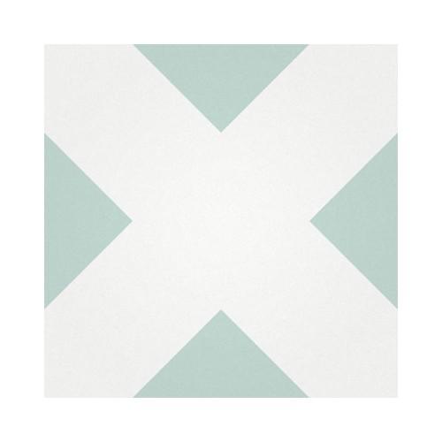 Baldosa Hidráulica 20x20x1,8cm Geométrica Nº 2