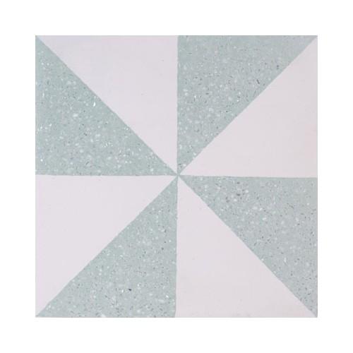 Baldosa Hidráulica 20x20x1,8cm Cement Nº 8