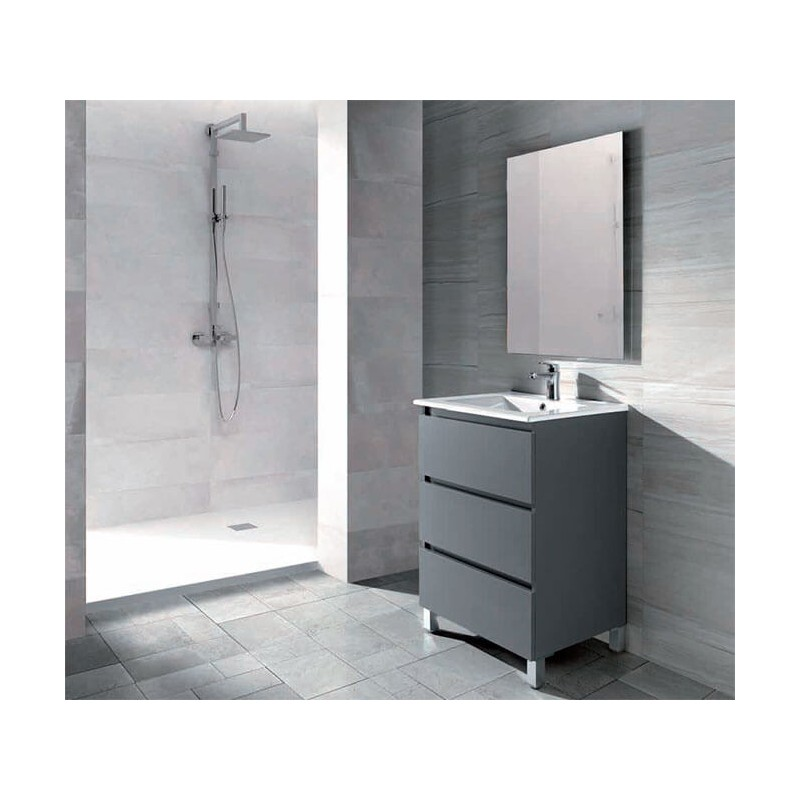 Conjunto mueble de baño 60cm serie Sofía Socimobel