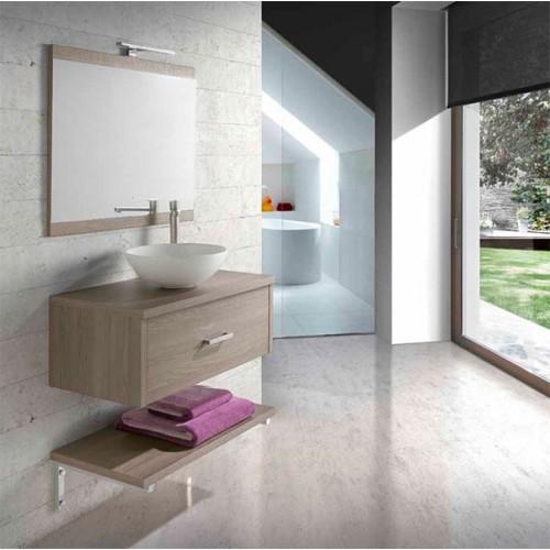 Conjunto mueble de baño 80cm serie Lión Bellezza