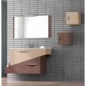Conjunto mueble de baño Bellezza de 85cm serie Geometric