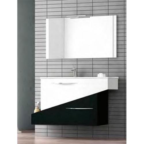 Conjunto mueble de baño Bellezza de 105cm serie Geometric