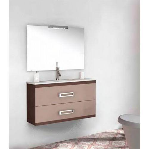Mueble de baño Bellezza de 100cm serie Vectra